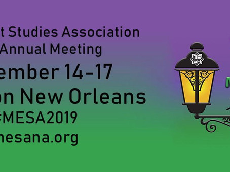 CAORC Fellows and Events at MESA 2019