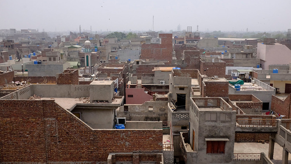 Lahore rooftops