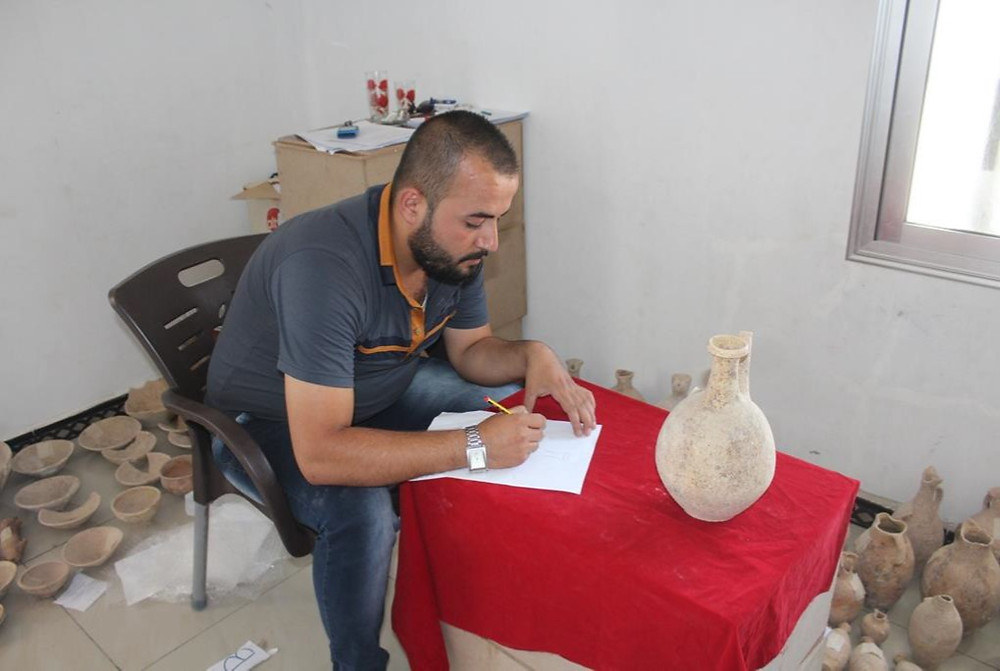 Idlib Antiquities Center documentation