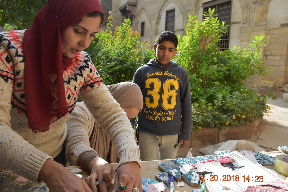 Students from local universities and surrounding neighborhoods were invited to learn about the project through open houses and workshops
