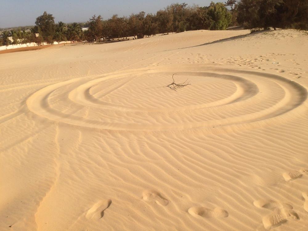 sand dune circle