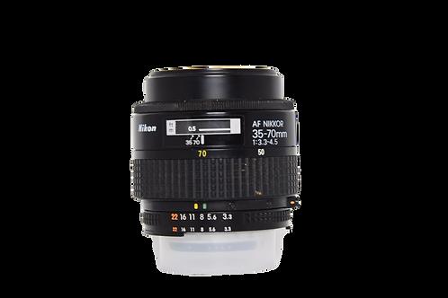 Nikon 35-70mm f. 3,3-4,5