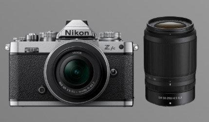 Nikon Z fc + 16-50mm + 55-250mm