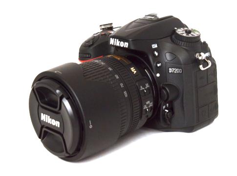 Nikon D7200 + 18-105mm F/3.5-5.6 G