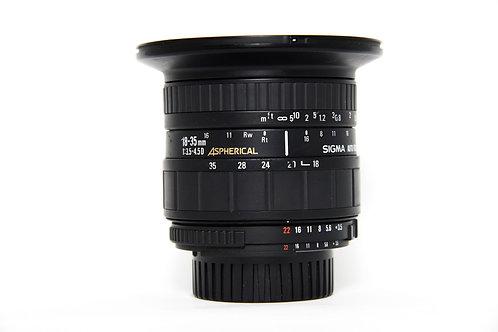 Obiettivo Sigma 18-35mm