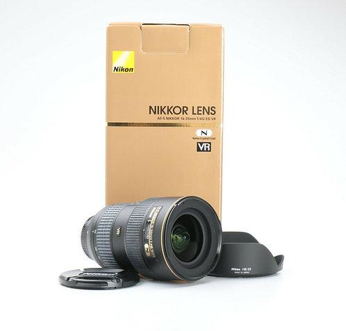 Nikon 16-35 F/4G ED