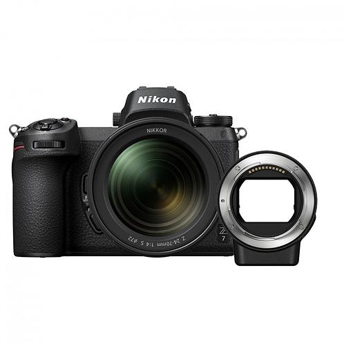 Nikon Z7 + 24-70 F/4 + FTZ