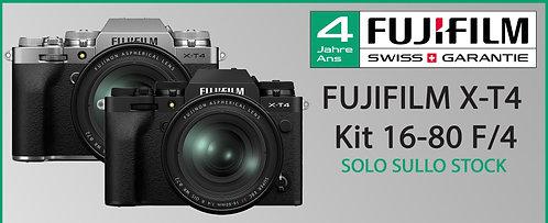 FUJIFILM X-T4 - KIT 16-80mm F/4