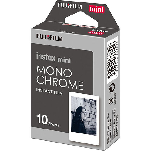 Fujifilm 10 Pack Instax Mini Monochrome Film