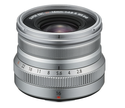 FUJINON XF 16mm F2.8 R WR SILVER