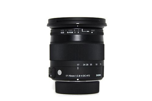 Sigma 17-70mm per Nikon F/2.8-4