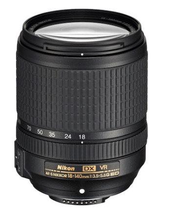 Nikon AF-S Nikkor 18-140mm f/3.5-5.6 G ED DX VR