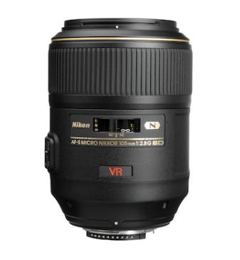 Nikon AF-S Nikkor 105mm f/2,8 G VR VR IF-ED Micro