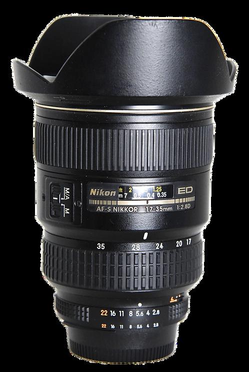 Nikon AF-S 17-35mm ED F/2.8D