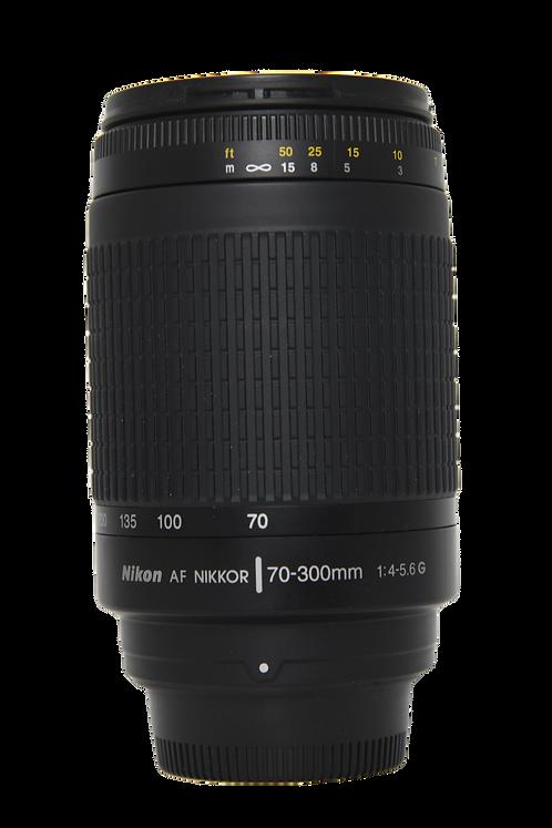 Obiettivo Nikon 70-300mm