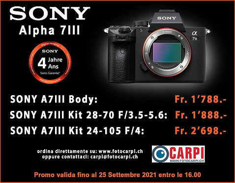 Sony Alpha 7 III Kit 28-70mm