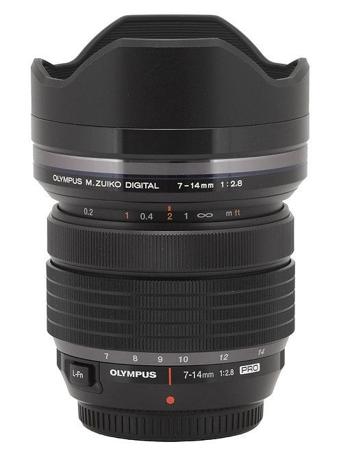 Olympus 7-14mm F/2.8 PRO