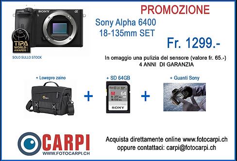Sony Alpha 6400 - Kit 18-135mm