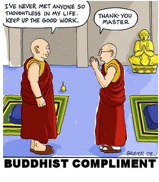 buddhist never met anyone so thoughtless
