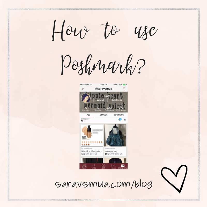 Poshmark, poshmark app, how to use poshmark, sara's blog post