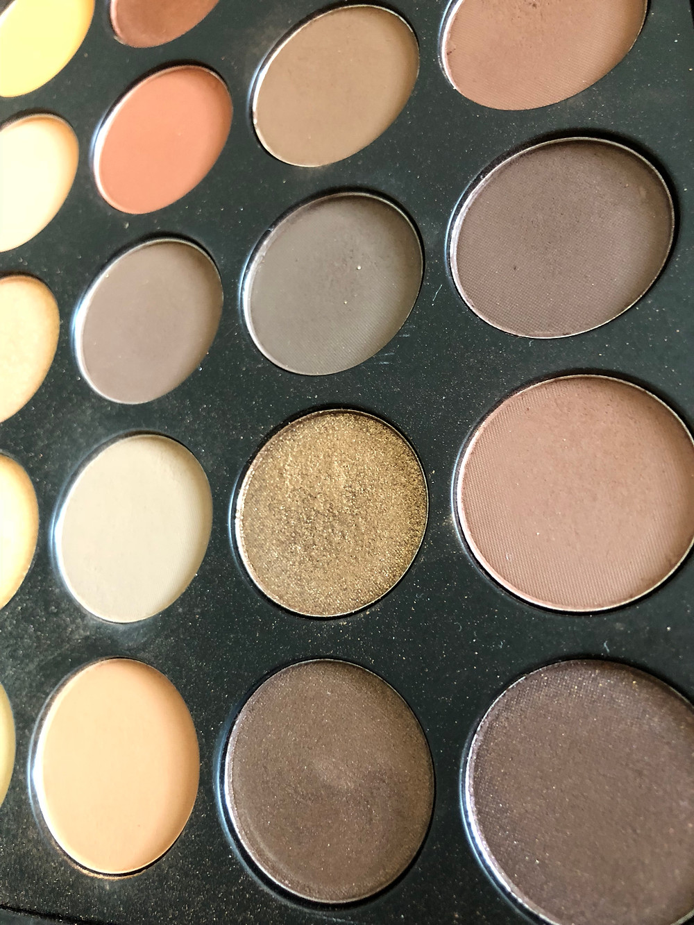 morphe 35O, eyeshadows