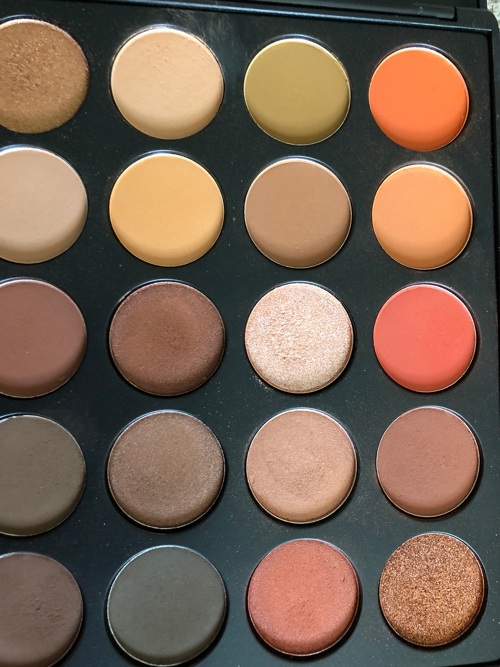 morphe 35O, eyeshadow colors