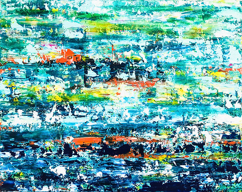 Costa Dorada - Abstract painting - ArtStudio29