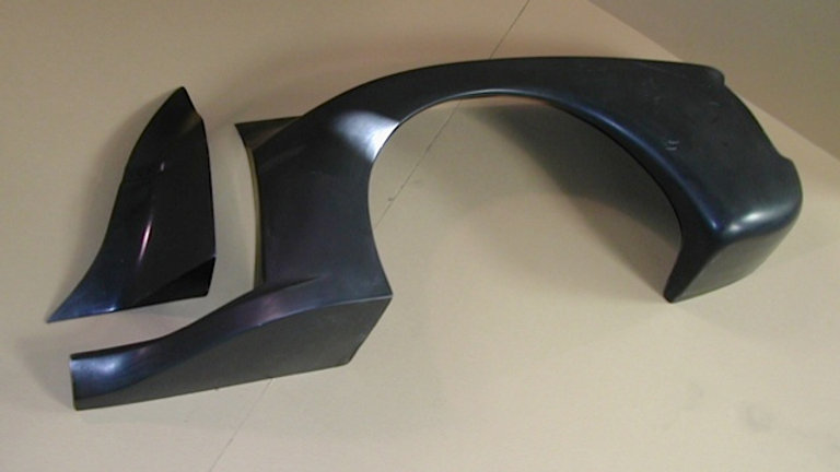 GTU Mk2 Right Rear Fender (comes w/Door Cap)