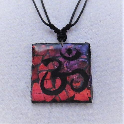 Eggshell Mosaic Pendants - Symbol series