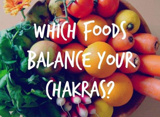 7 Chakras & Healthy Food