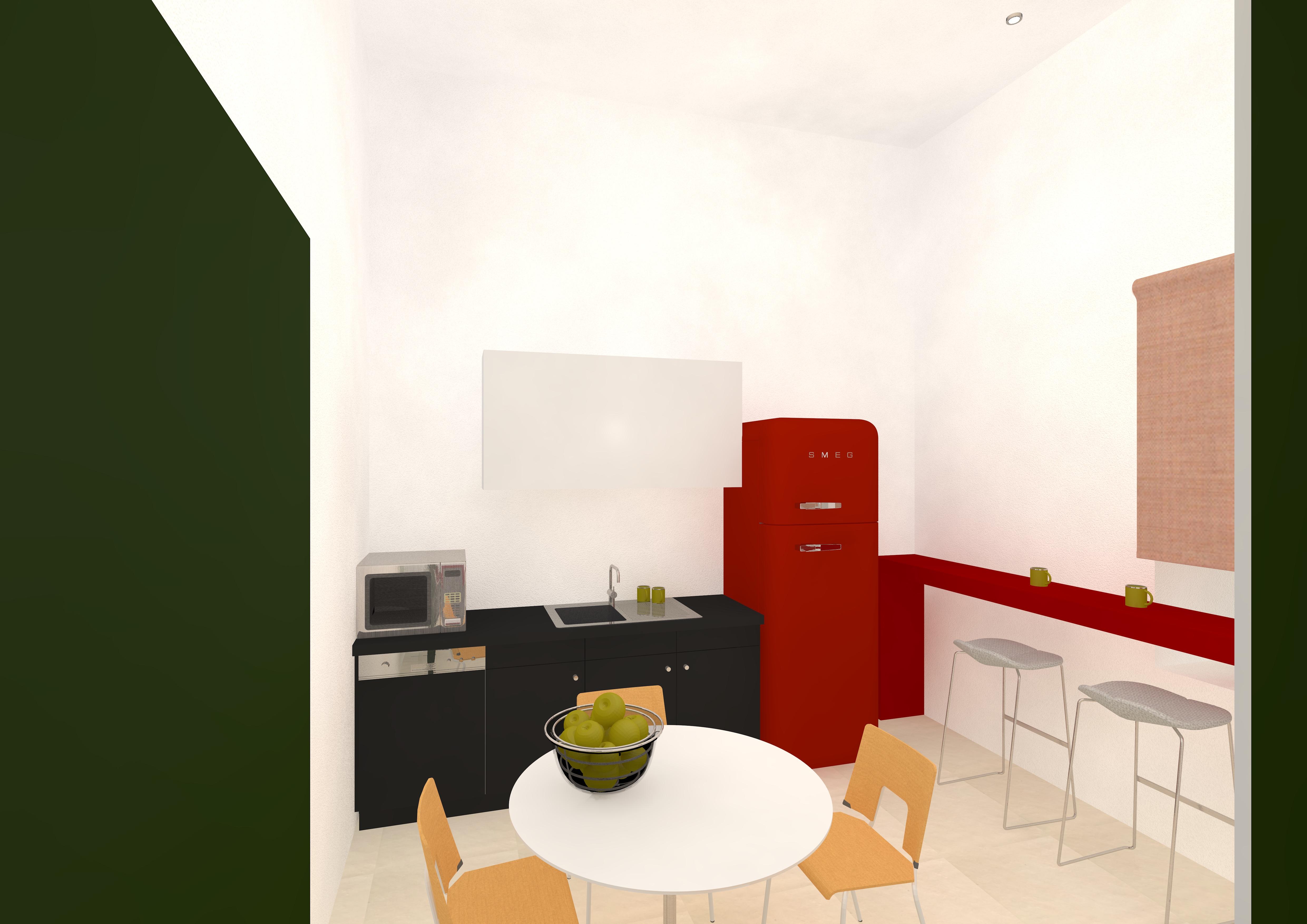9.Кухня горизонтальная