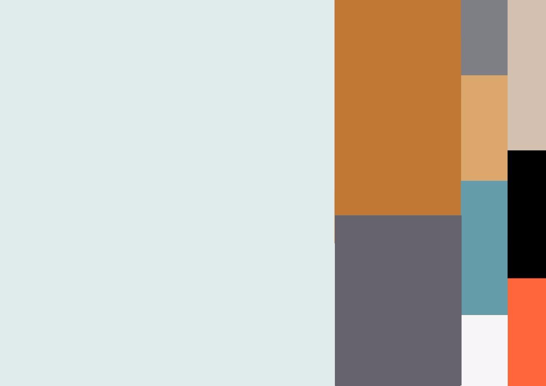 карта цвета