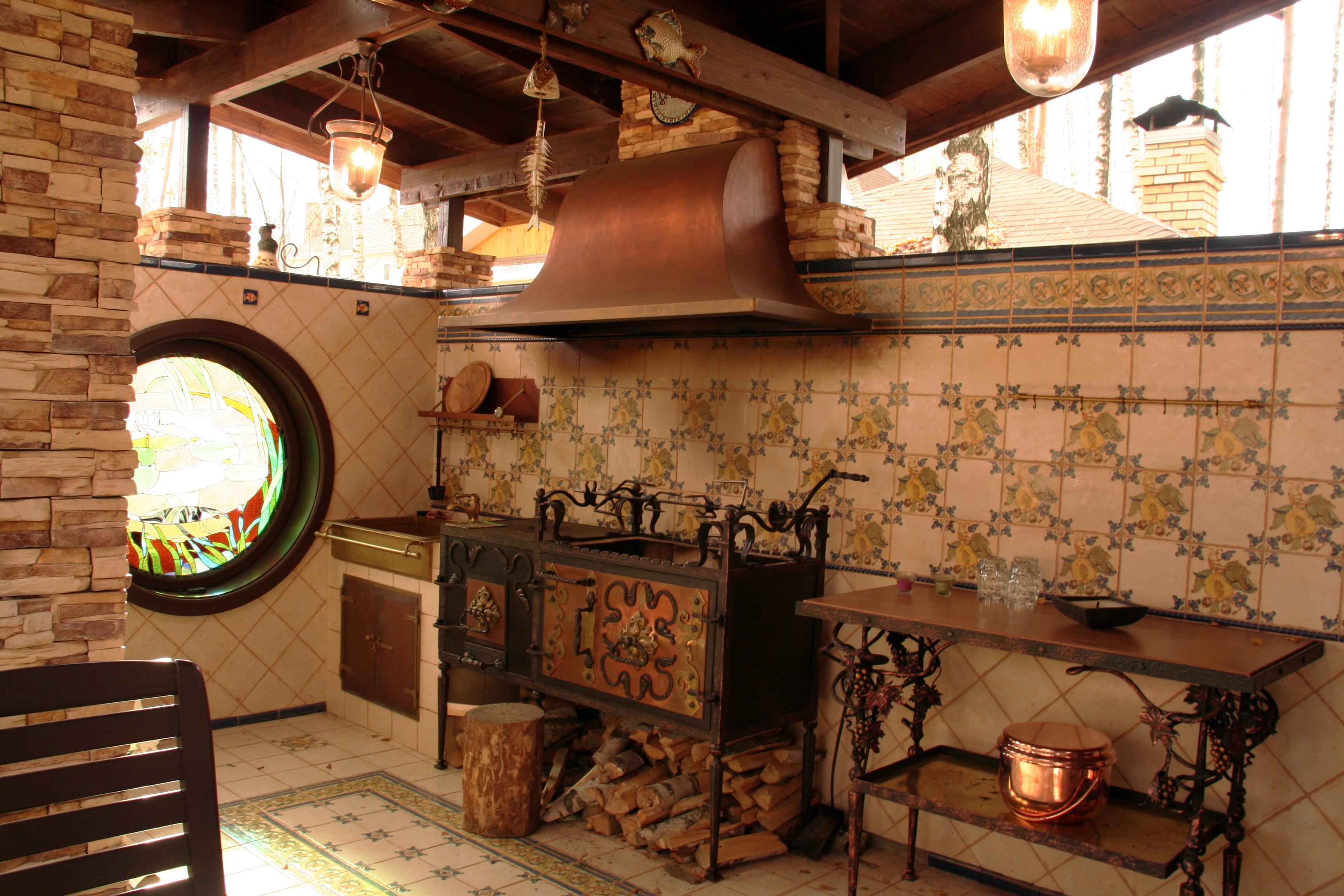 Летняя кухня (Restart)