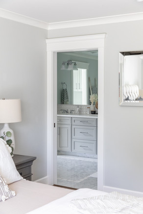 Master bathroom design by Cabana Rehab Interiors