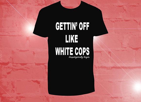 Gettin' Off Tee Black/ White