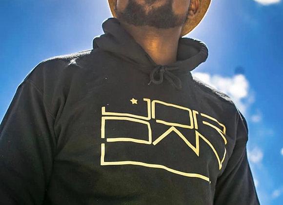 """Black/ Gold JordanL """"Logo"""" Hoodie"""