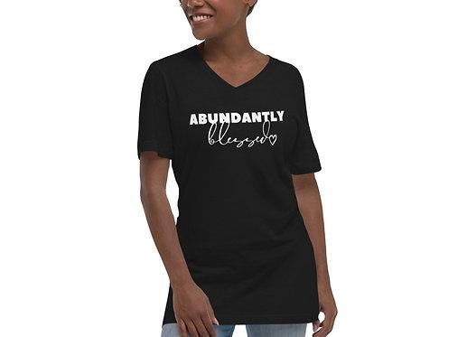 Abundantly Blessed ( V-Neck )*
