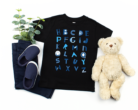 Pray - Colorful Playful Alphabet Letters ( Boy Toddler Tee )