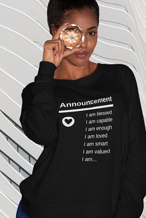 Announcement - I AM