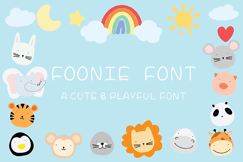 FOONIE FONT (Extended License)
