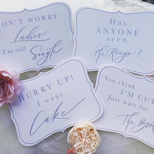 Pageboy Signs Set