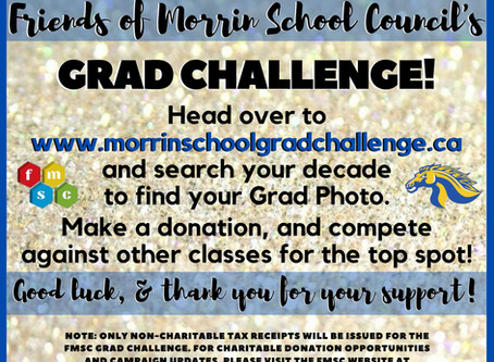 The Morrin School Grad Challenge is On!