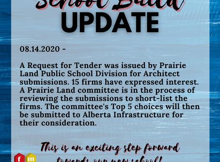 School Build Update