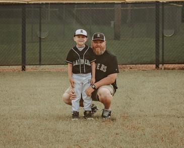 Father son baseball