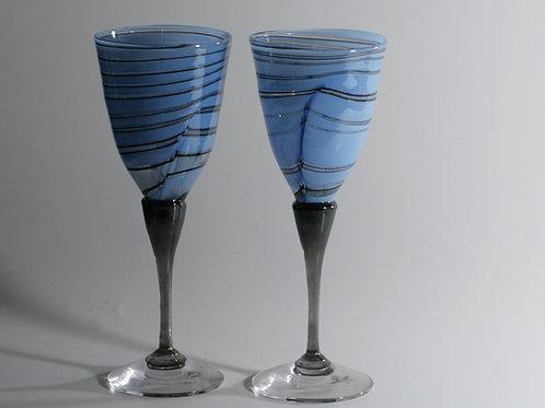 Lyseblåklippeglass