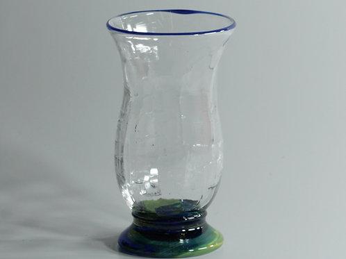 vannglass med lapis kant