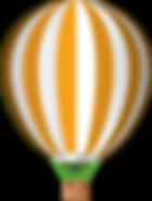 Orange Baloon