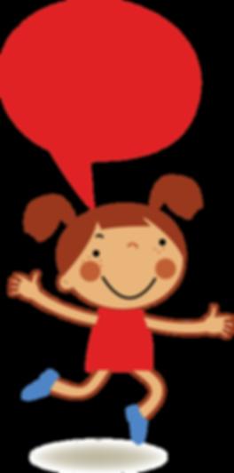 Red Girl Speaking