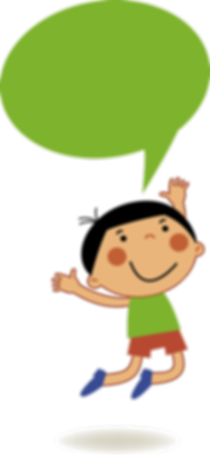 Green Boy Speaking