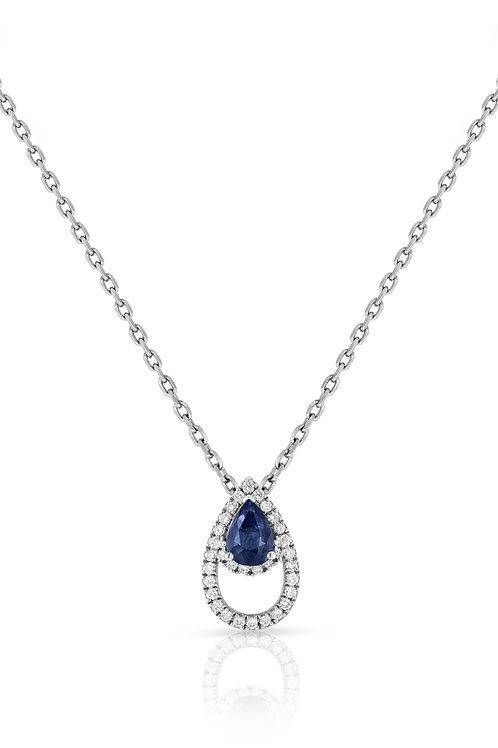 Lanka Pendant - Sapphire